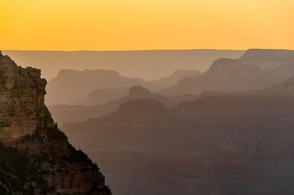 Layerd Sunset from Yaki Point