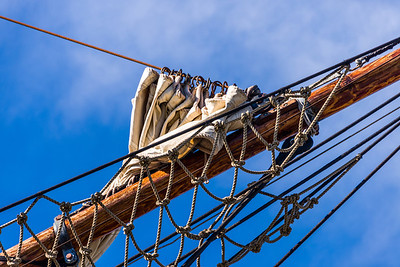 Rigging, HMS Bounty Replica