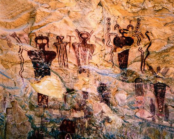 Sego Canyon Pictographs